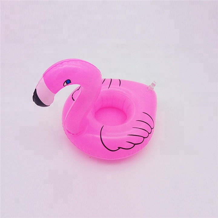 Mini Vinyl Flamingo Floating Inflatable Drink Can Cell Phone Holder Stand Pool Toys Swimming Bath Pool Toy Decoration To Assure Years Of Trouble-Free Service Mother & Kids Accessories