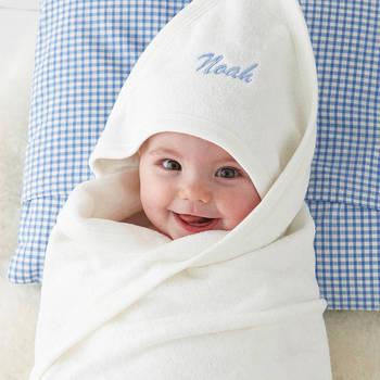 bestickte baby handtücher