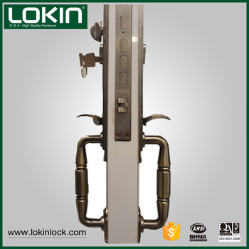 oil rubbed bronze security door locks