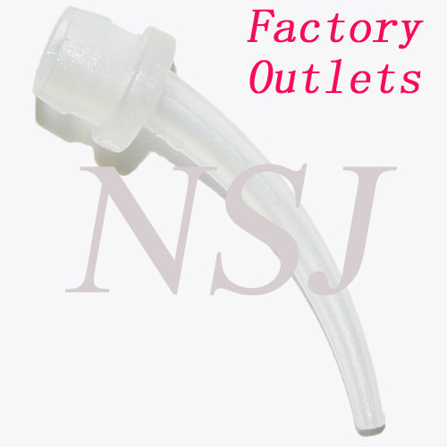 N-2 Dual Silicone Syringe Tip for delivering dental silicone impression materials