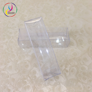 2.5cm*2.5cm*8.5cm Customized Oem small lipstick clear pvc box packaging FREE SHIPPING