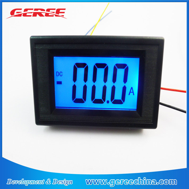 Electrical Instruments Nice Ac 0-50a Ammeter Include Shunt 50a 75mv Ac Current Meter Ampere Panel Meter Lcd Digital With Blue Backlit Current Sensor Ac 50a Measurement & Analysis Instruments