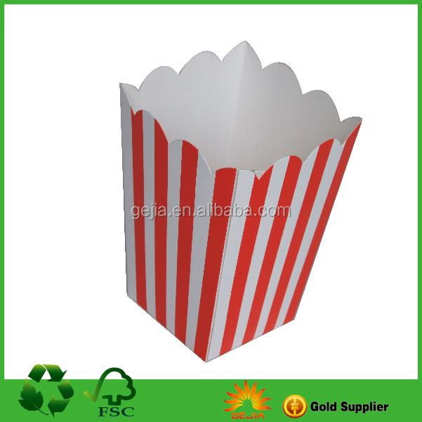 popcorn box sizemini popcorn boxescustom popcorn boxes