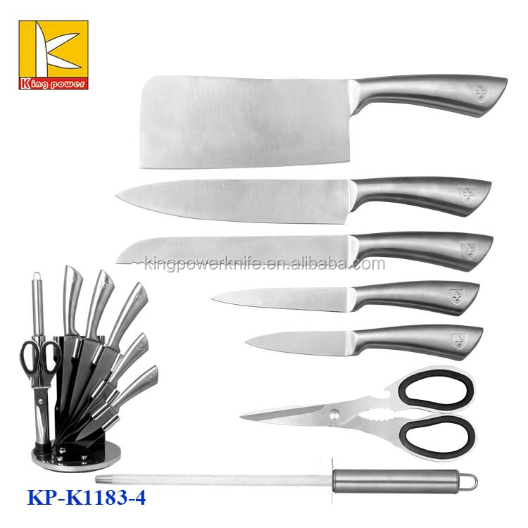 Good quality 8pcs inox kitchen knife set