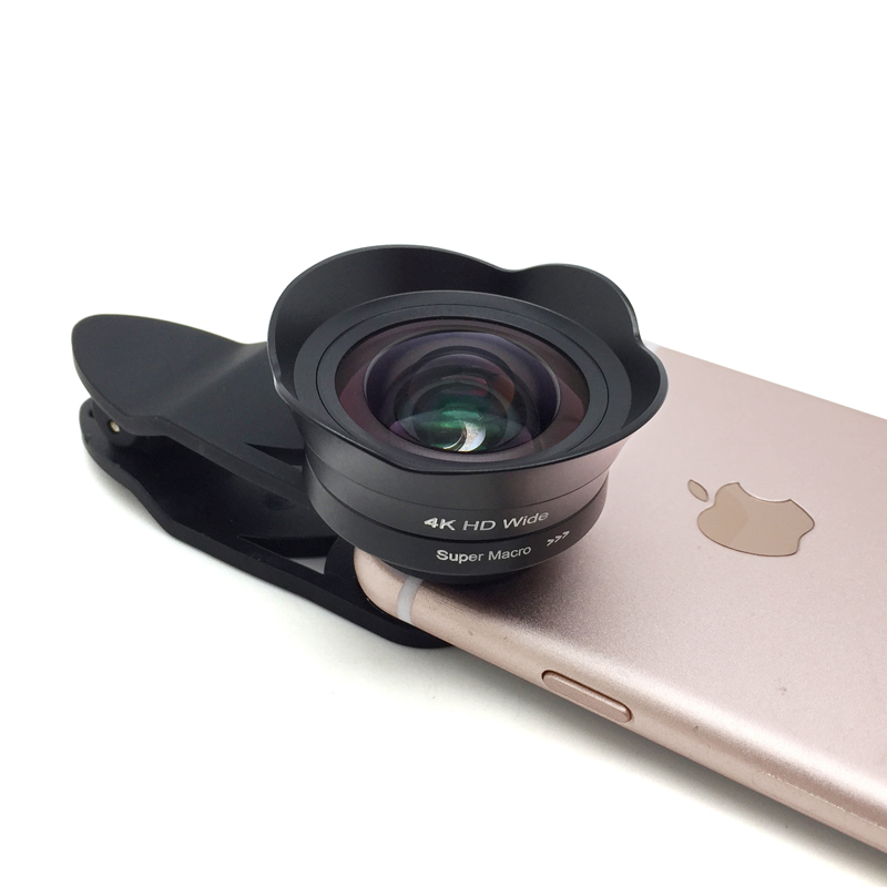 2017 Amazon Best Seller Aspheric Cell Phone Lens Clip External Camera Wide  Angle Macro Lens Kit For Android For Iphone - Buy Aspherical Lens,Wide