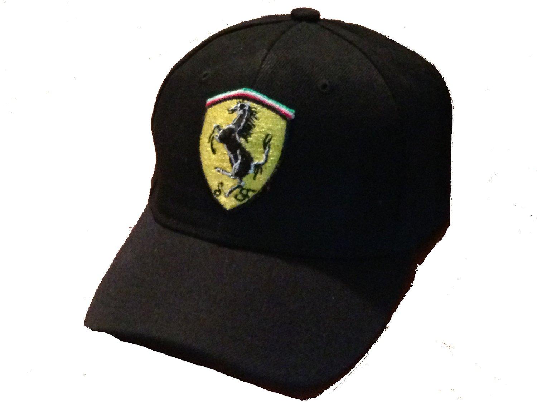 a5ca5dd628479 Get Quotations · Ferrari Baseball cap hat. Black. New!