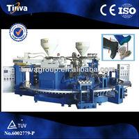 Full automatic PVC rain boots injection moulding machine