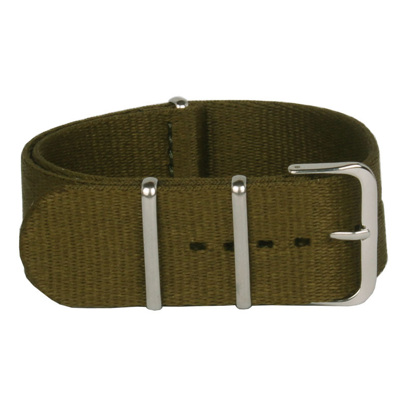 Wholesale Fashion Army Green 2015 Army Military Nato Nylon Watch 20mm Fabric Woven Watchbands Strap Band Buckle Belt Accessories