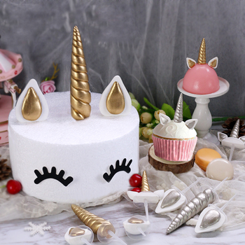 Decorations Baking Tools Unicorn Birthday Cake Topper Theme