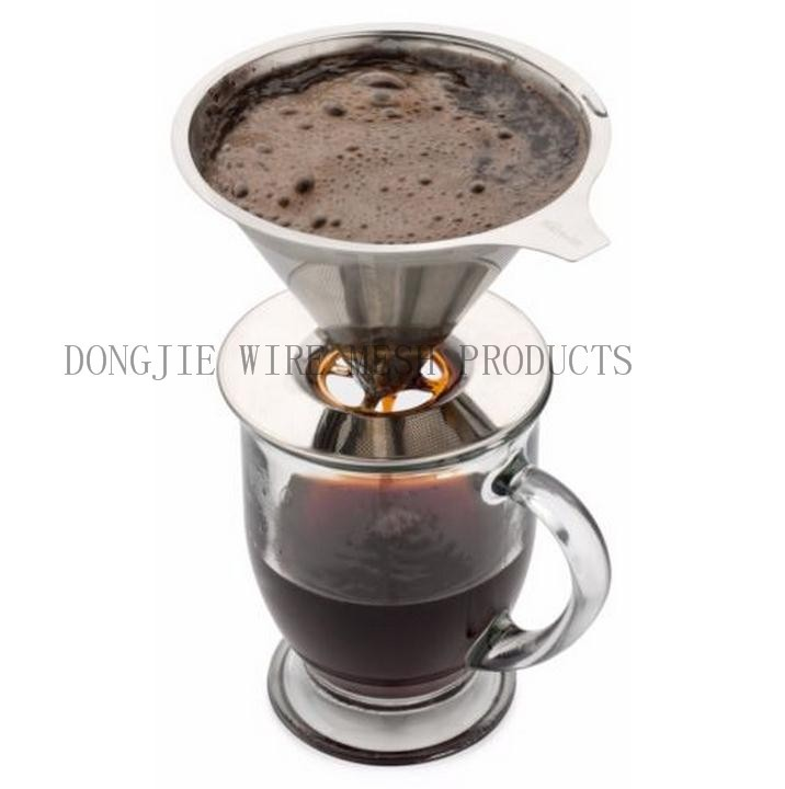 Customized Logo Ceramic Coffee Filter Holder Cup 30 Years Factory