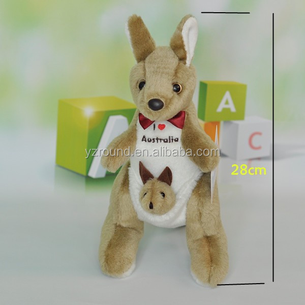 I love Australia Kangaroo MUM & BABY plush cute quality toy