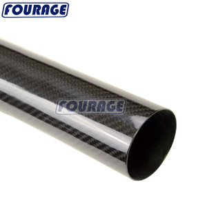 Racing Auto Parts High Strength Lightweight 100% Carbon Fiber Exhaust Pipe