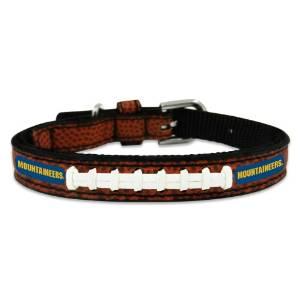 NCAA West Virginia Mountaineers Classic Leather Football Collar