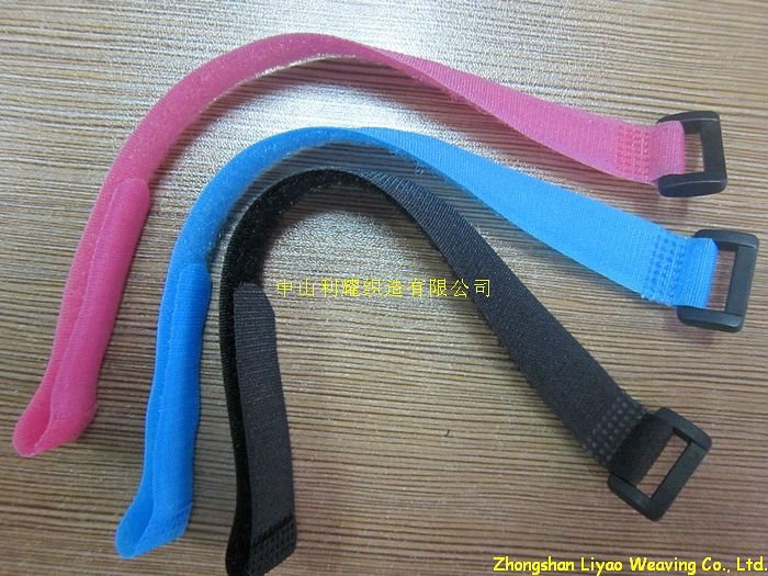 hook and loop tie for electric wire's /hook and loop straps