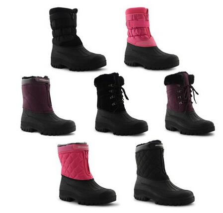 Ladies Womens Mens Riding Yard Mucker Rain Winter Stable Boots ...