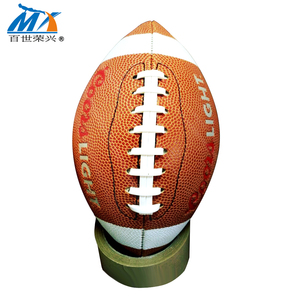 official size 9 american football cheap Australian rules football/aussie rule football sewing machine 390g rugby ball
