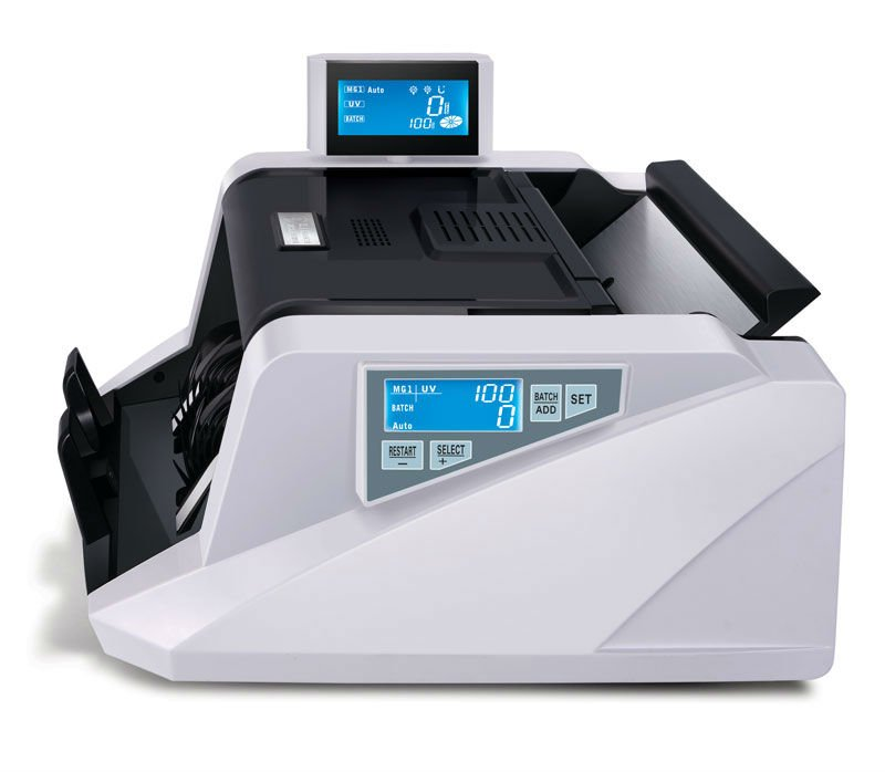 multi currency bill counter GR-168 Double LCD display