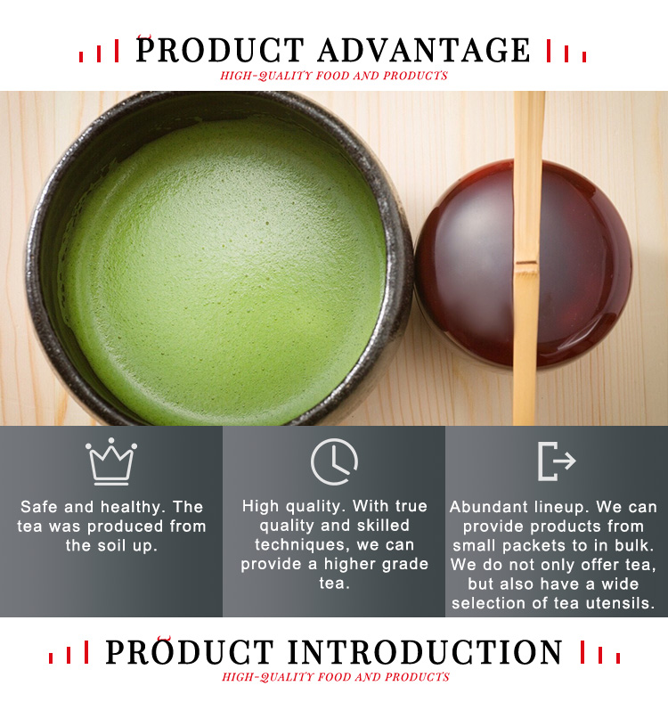 Japanese Organic Matcha Green Tea Powder Safe And Healthy