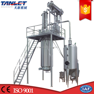 pharmaceutical solvent recovery extractor