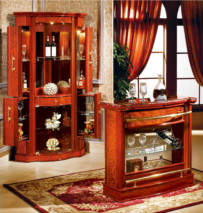 Living Room Bars Furniture: Furniture Living Room Modern Home Mini Bar Counter Design