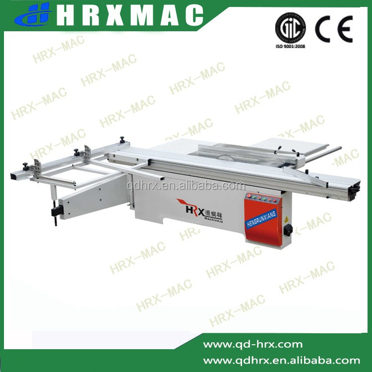 sliding table 2800/3000/3200/3800mm HRX manufacturer of woodwoking sliding table saw