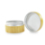 New Arrival Natural Bamboo wood cosmetic cream jar with aluminium inner for sales