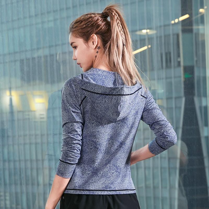 Fitness Quick Drying Training Exercise Yoga Running Coat 4