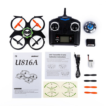 UDI RC U816A 2.4GHz 4 Channels RC 6 Axis Gyro UFO Aircraft Quadcopter
