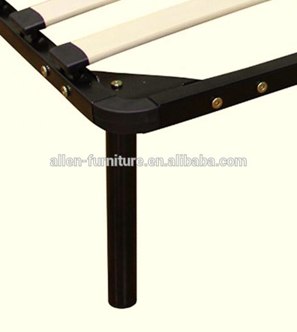 Wooden Slat Platform Bed Frame Queen 7 Legs Mattress Foundation