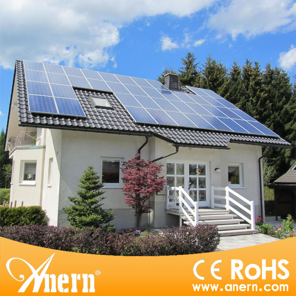 Easy equipment installation and maintenance 10kw solar panel system