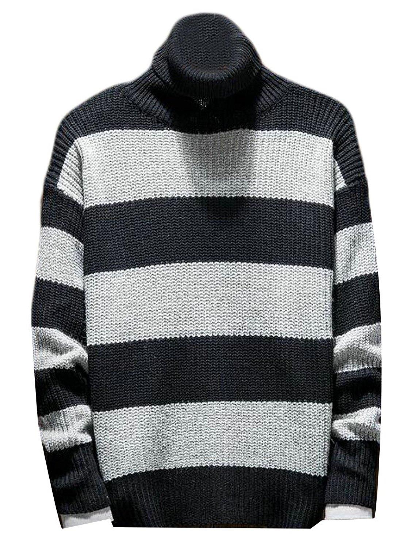 Emastor Women Classic Cotton Turtleneck Thicken Warm Knit Sweater