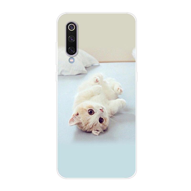 Для Xiaomi Mi 9 чехол для телефона мягкий силиконовый принт задний Чехол бант для Xiaomi Mi 9 Lite Mi9 SE чехол противоударный чехол(Китай)