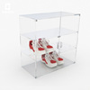 Customize Clear Acrylic Shoe Display Rack In The Shop From China