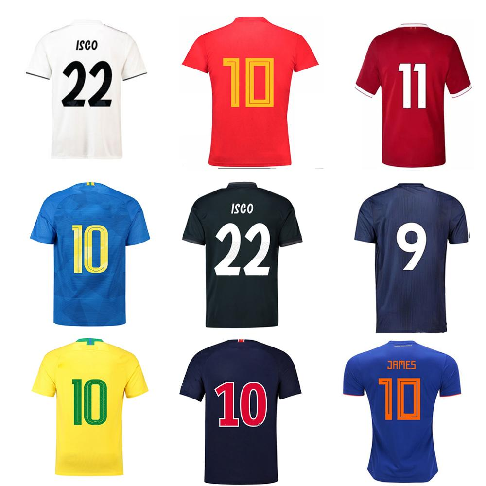 2018 all teams custom world cup soccer jersey