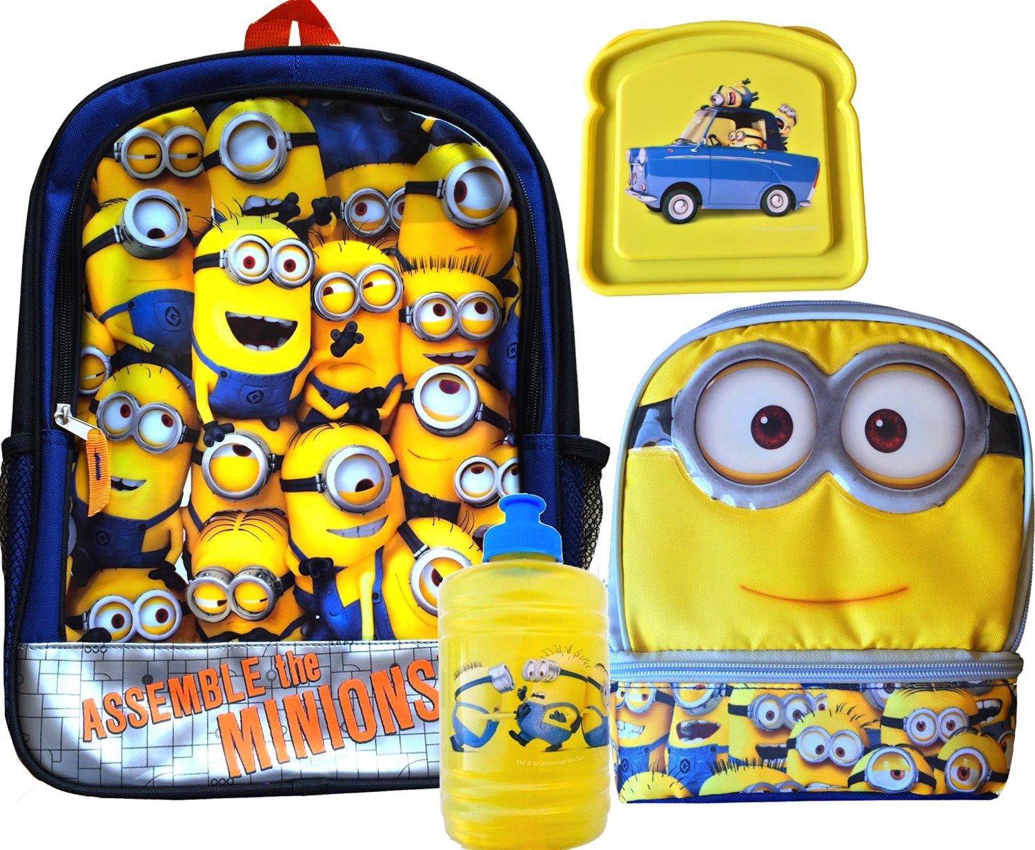 a6519b249d66 Buy Minions Movie Exclusive School Backpack with Minions 2 ...