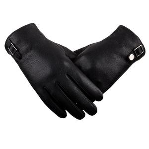 2018 Hot Sale Fashion Classic Men's Real Leather Gloves With Deer Skin Pattern