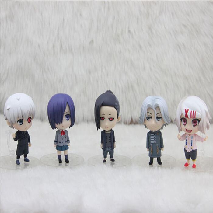 5Pcs/Set Tokyo Ghoul Cosplay 2nd Generation Kaneki Ken Q