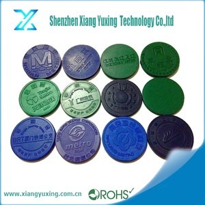 Full Color Printing Remote Control Token for Ticketing ,E-payment