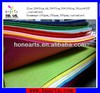 Nonwoven colorful felt made of 100%polyester
