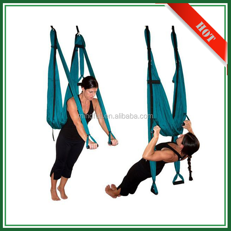 Retail Wholesale Portable Heavy Duty Nylon Yoga Swing Hammocks