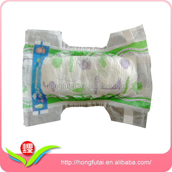 Natural Dual Layer Design Of Absorbent Core Adult Baby Diapers
