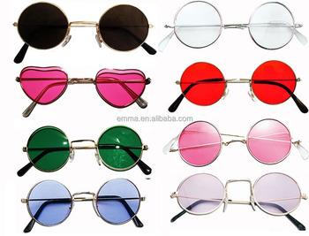 ea867600a John Lennon estilo óculos de sol Ozzy Osbourne Hippy anos 70 dos anos 80  Fancy Dress