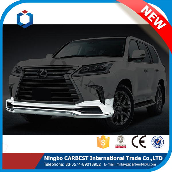 High Quality PP Lx570 Front Spoiler for New Lexus Lx 570 2016