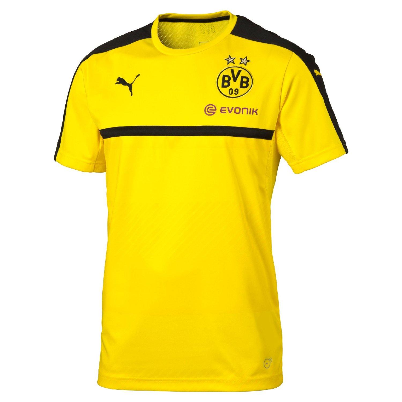1318928281bf Get Quotations · 2016-2017 Borussia Dortmund Puma Training Shirt (Yellow)