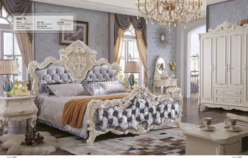 Pakistán Antique Fancy Blanco Vintage Juegos De Dormitorio Muebles ...