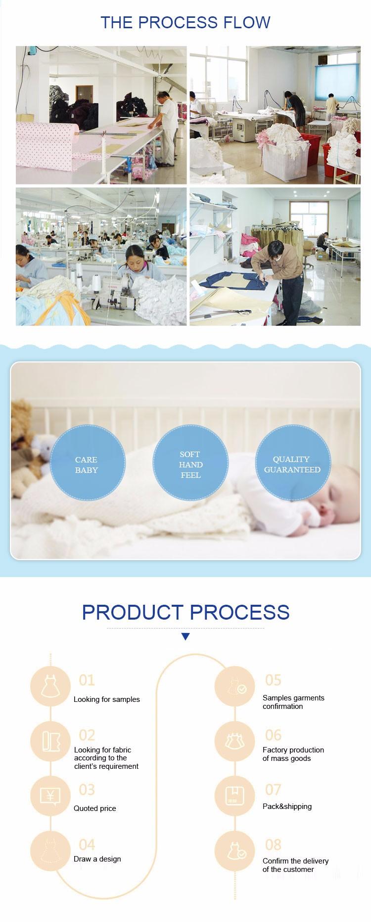Lengan Panjang Newborn Bayi Balita Pakaian Cina Katun Lembut Baju Tumbuh Bodysuit Grosir