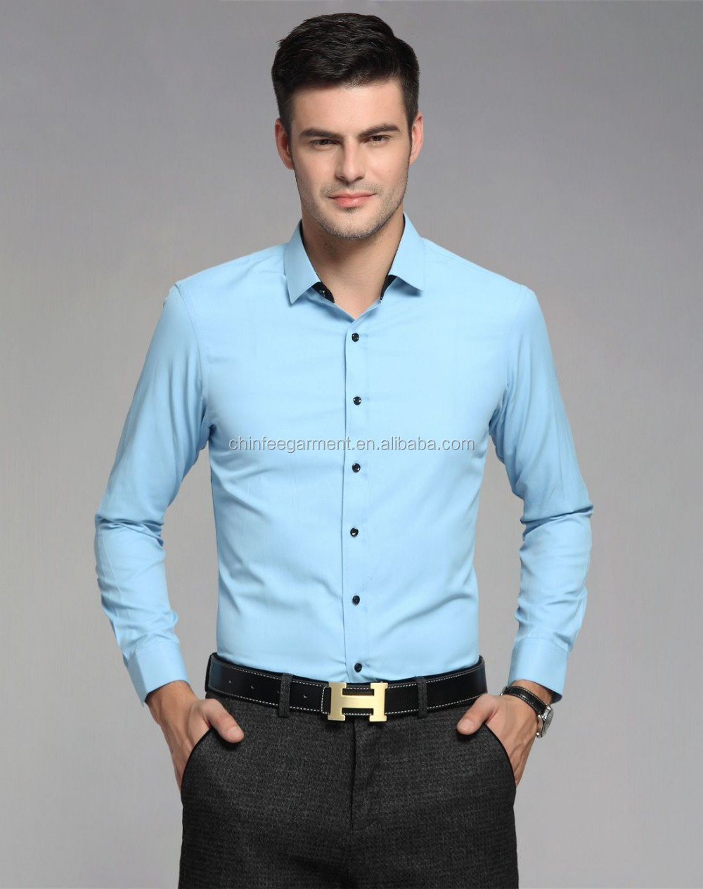 Latest Design Mens Formal Shirts Designs Man Dress Shirt - Buy ...