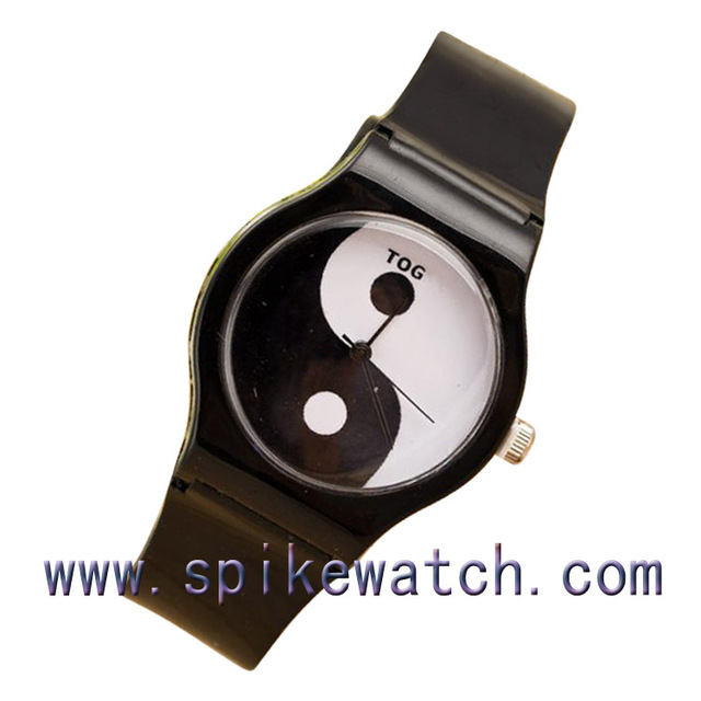 fake black buy best for friend plastic originals watches ladies rubber quartz too replica watch swatch dial silver