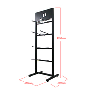 Best quality promotional displays stand for socks Socks rack Metal Display Stand For sale