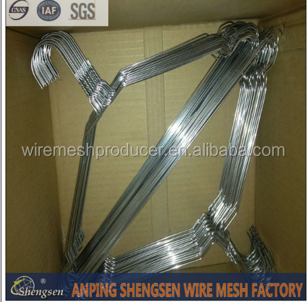 factory price metal wire cloth hanger